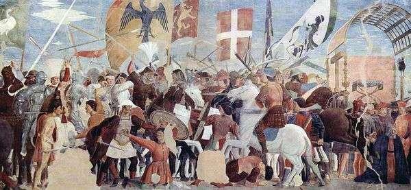 Hozroy   Piero della Francescaとヘラクレスの戦い