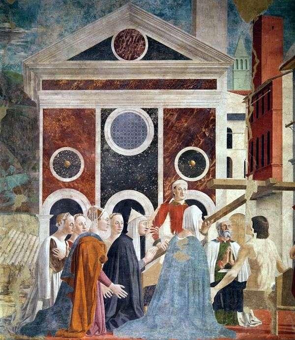 聖十字架の高揚   ピエロデッラフランチェスカ