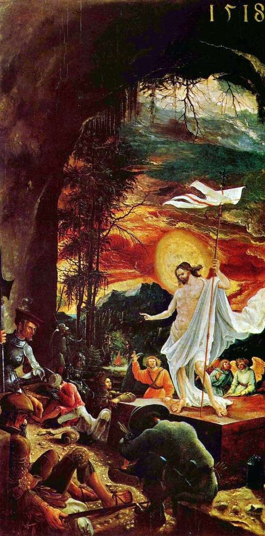 キリストの復活   Albrecht Altdorfer
