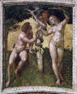 アダムとイブ   ラファエルサンティ