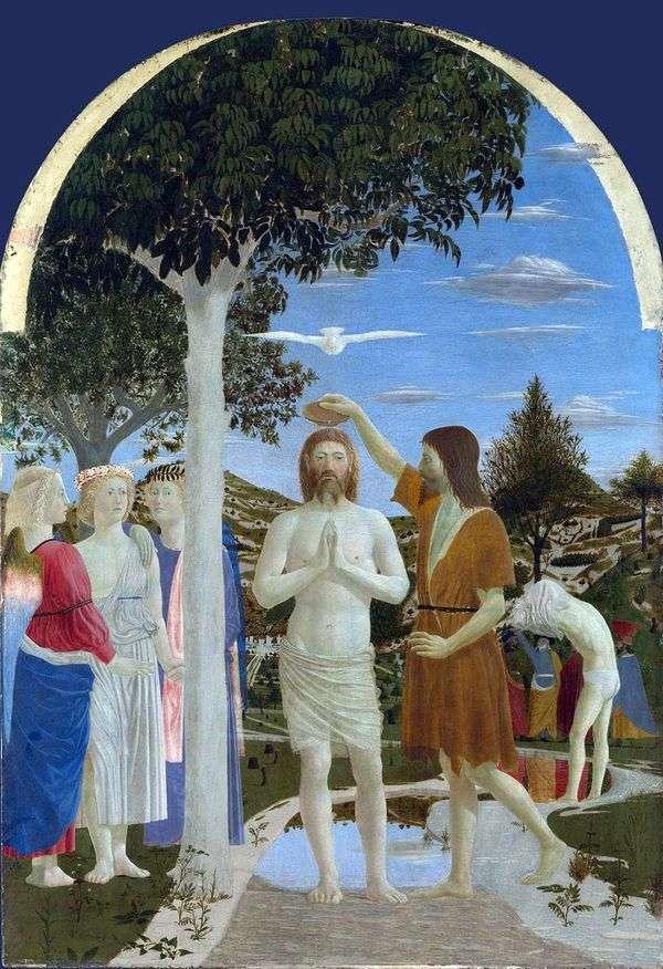 キリストの洗礼   ピエロ・デッラ・フランチェスカ