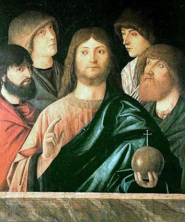 救世主と四人の使徒   ヴィットーレ・カルパッチョ