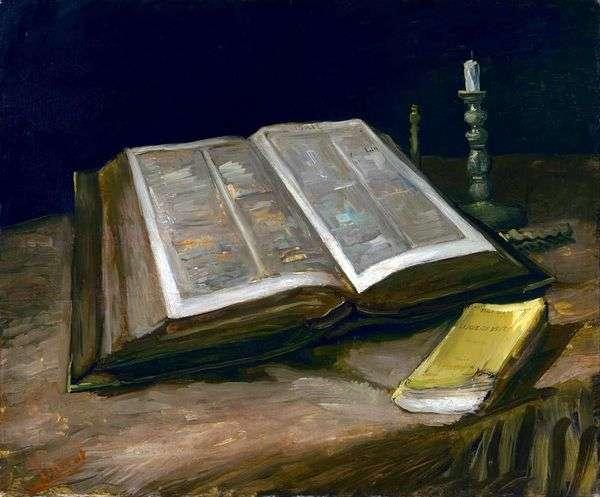 聖書のある静物   Vincent Van Gogh