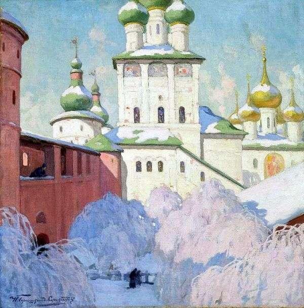 冬 ロストフクレムリン   イワンゴリューシュキン   ソロコプドフ