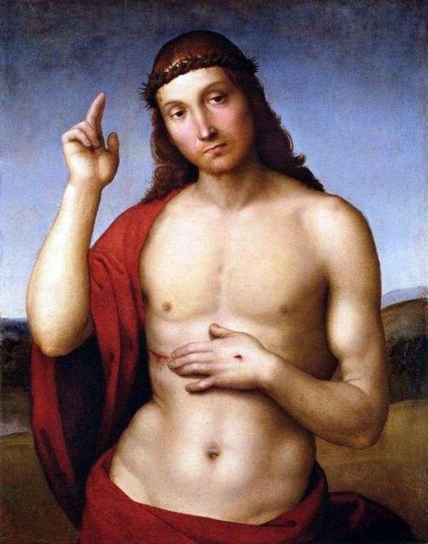 キリストの祝福(Pax Vobiscum)   ラファエルサンティ