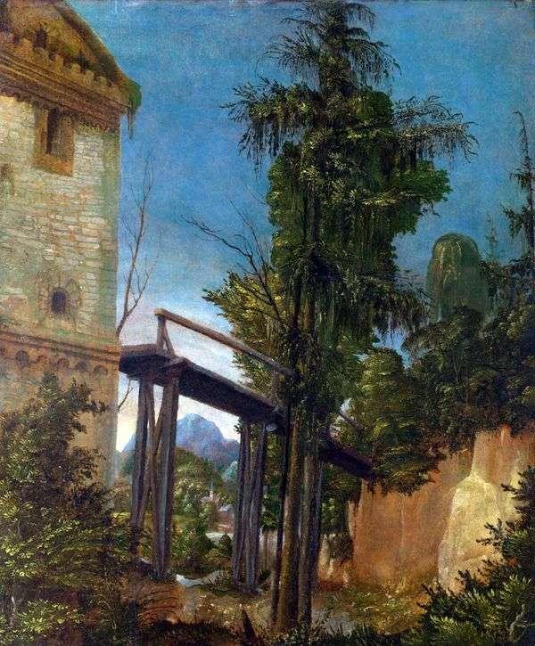 橋のある風景   Albrecht Altdorfer