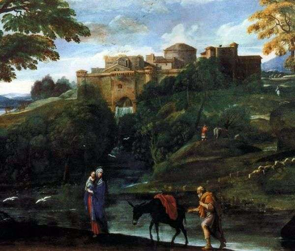 エジプト行きの便   Annibale Carracci