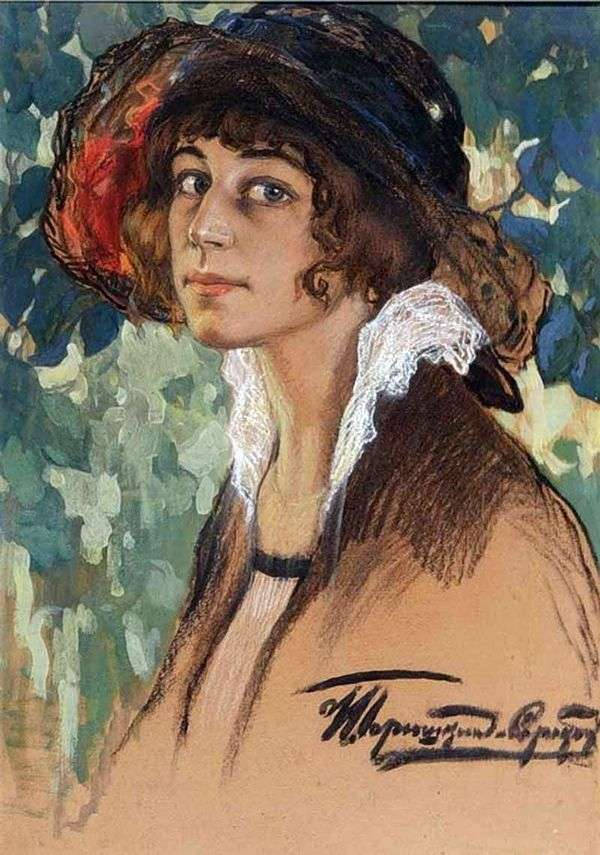 A. N. Sobolschikova Samarina   Ivan Goryushkin Sorokopudovの肖像画