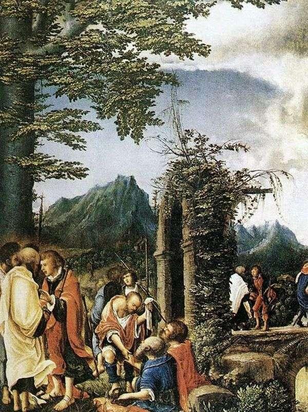 使徒たちの聖体拝領   Albrecht Altdorfer
