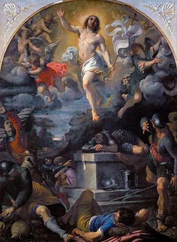 キリストの復活   Annibale Carracci