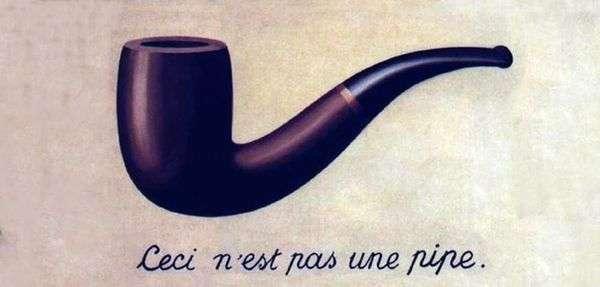 これはパイプではありません   Rene Magritte