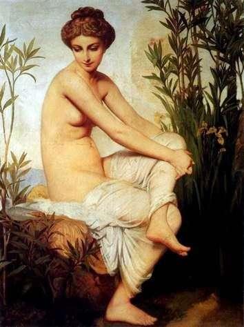 Antique Bather   ユージーン   エマニュエルアマリ   デュバル