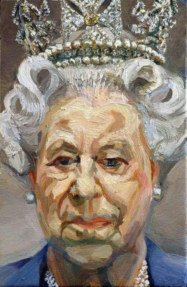 エリザベス女王2世   Lucien Freud