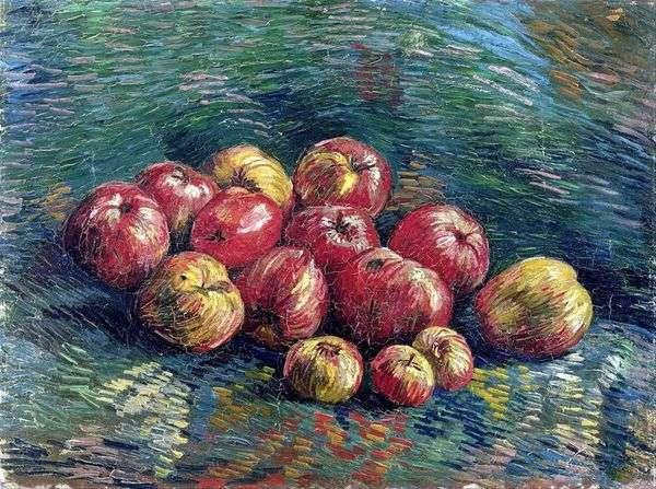 りんごのある静物   Vincent Van Gogh
