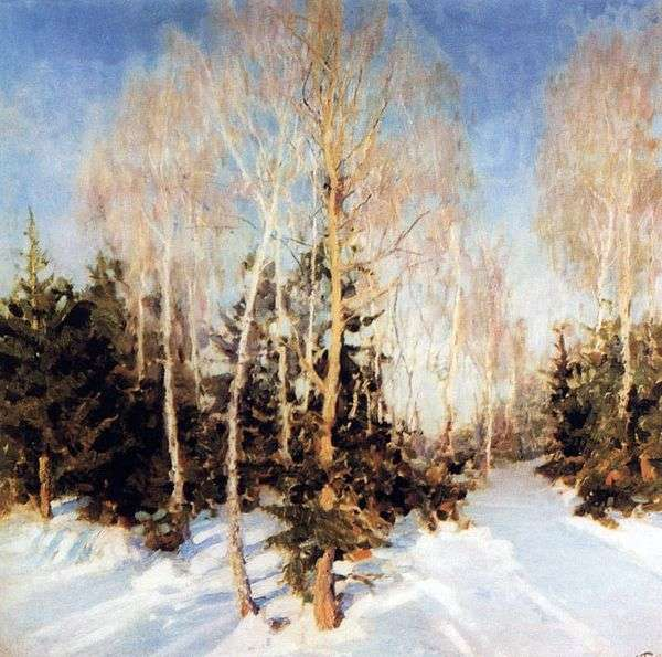 冬の風景   イゴールグラバー