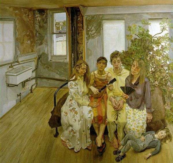 Watteau   Lucien Freudに基づく