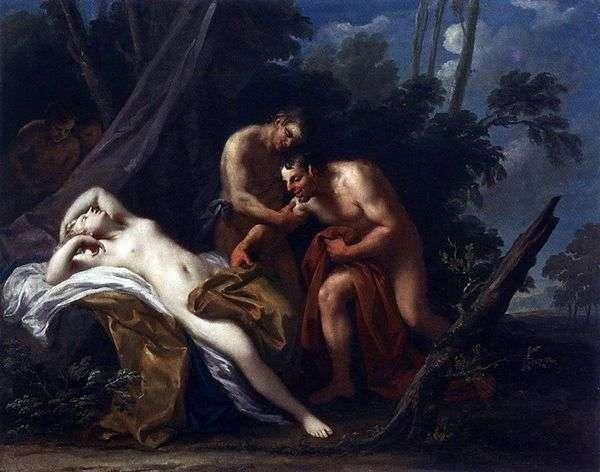 Satyrと眠っているニンフ   Jacopo Amigoni