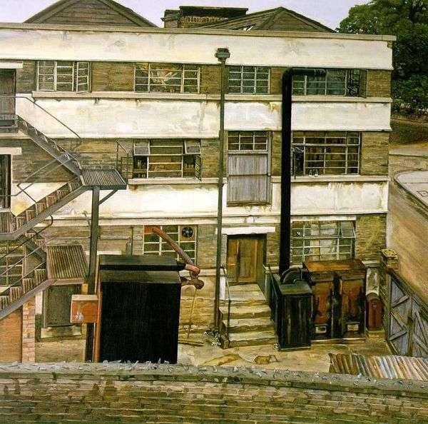 ロンドン工場   ルシアンフロイト