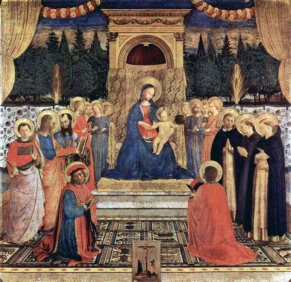 サンマルコの祭壇   Fra Beato Angelico
