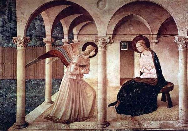 受胎告知   Fra Beato Angelico