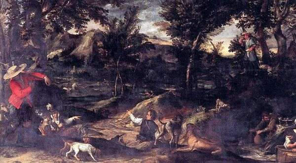 狩猟   Annibale Carracci