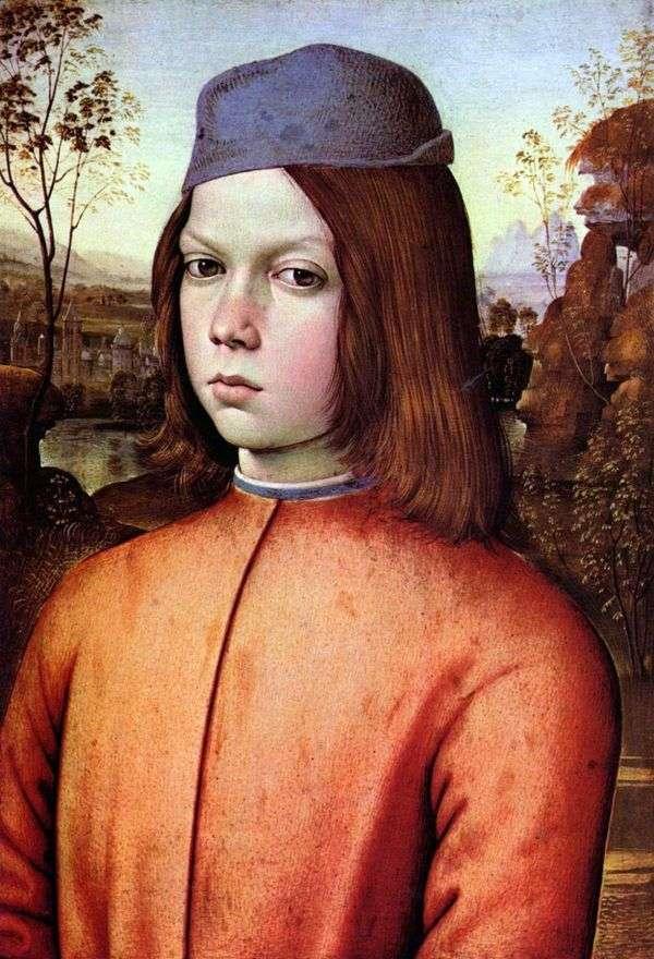 男の子の肖像   ピントゥリッキオ