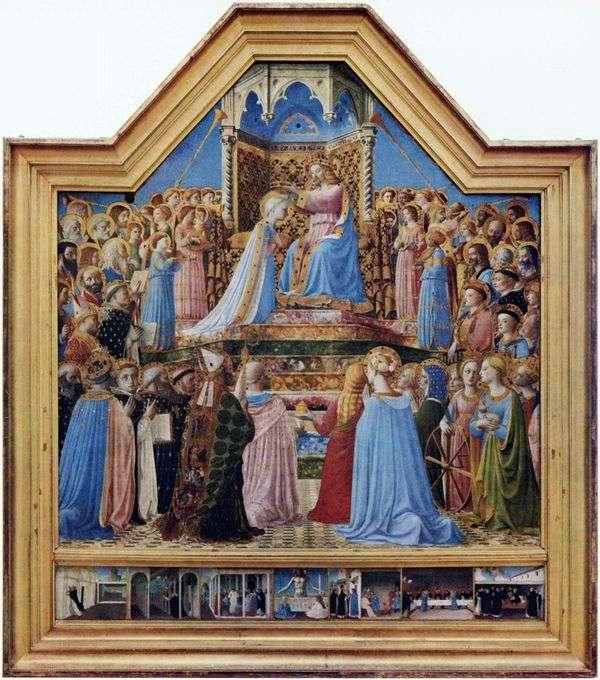 聖母マリアの戴冠式   Fra Beato Angelico