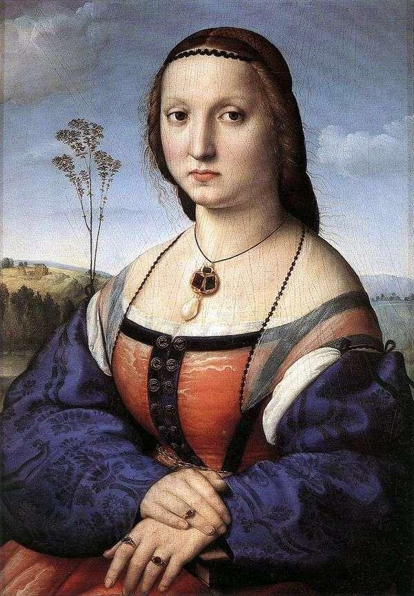 Maddalena Doni   ラファエル・サンティ