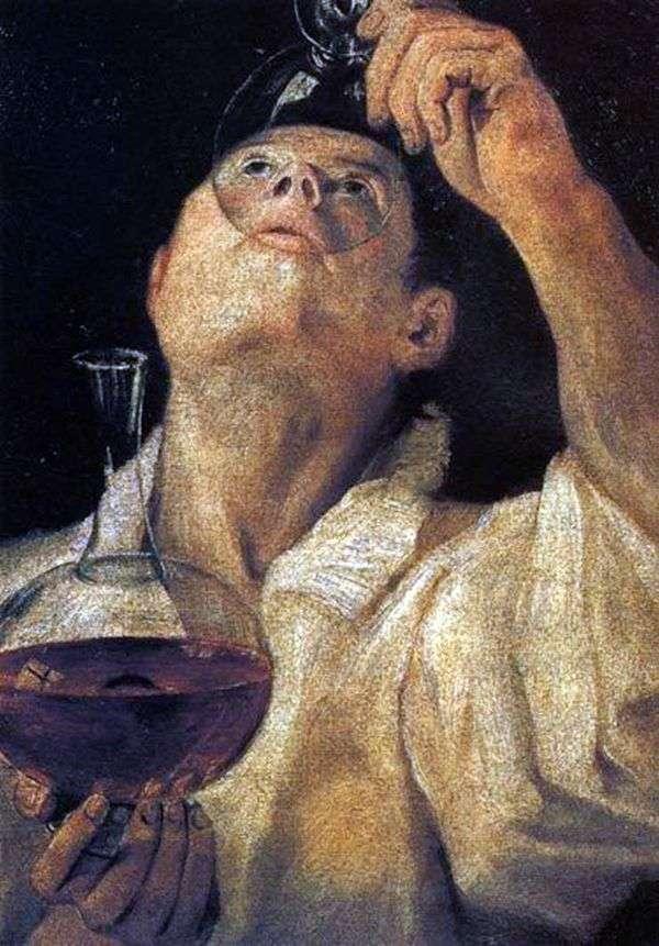 飲酒の少年   Annibale Carracciの肖像
