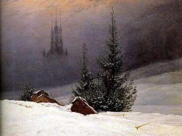 冬の風景   キャスパーデビッドフリードリヒ