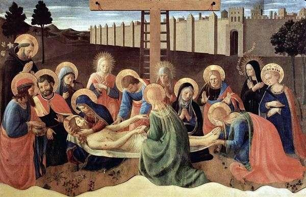 十字架からの降下   Fra Beato Angelico