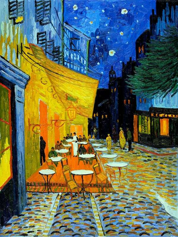 ナイトテラスカフェ   Vincent Van Gogh