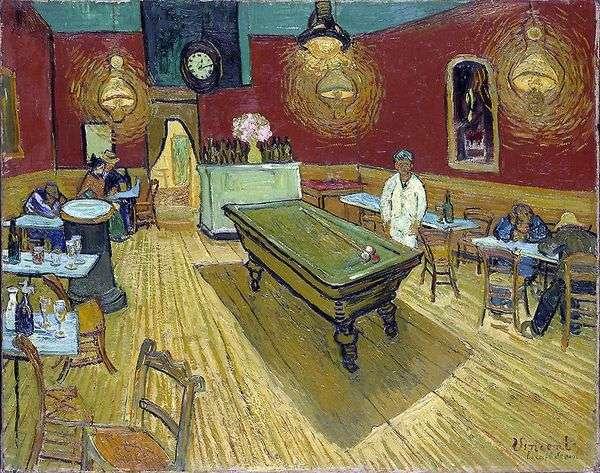 アルルのラマルティーヌ広場の夜のカフェ   Vincent Van Gogh