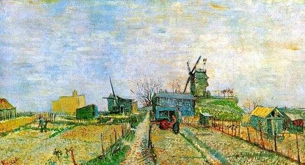 Montmartre   Vincent Van Goghの庭園