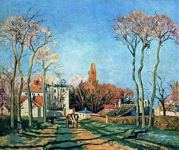 Voisin   Camille Pissarroの村への入り口