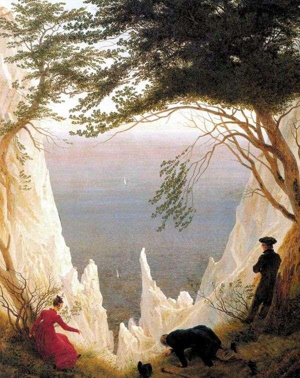 リューゲン島   Caspar David Friedrich島のチョークの崖