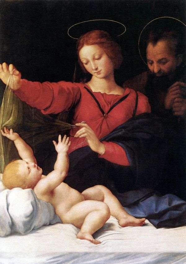 Madonna LoretaまたはMadonna del Velo   ラファエルサンティ