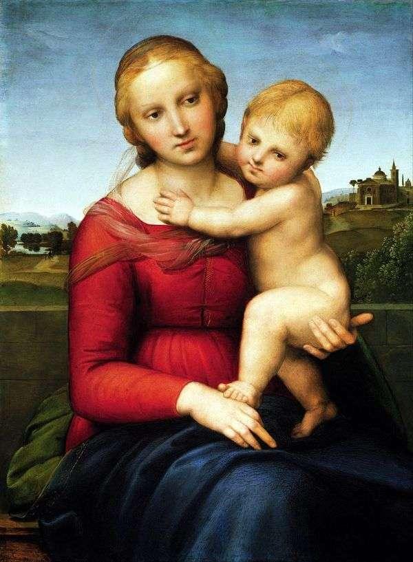 マドンナと子   ラファエルサンティ