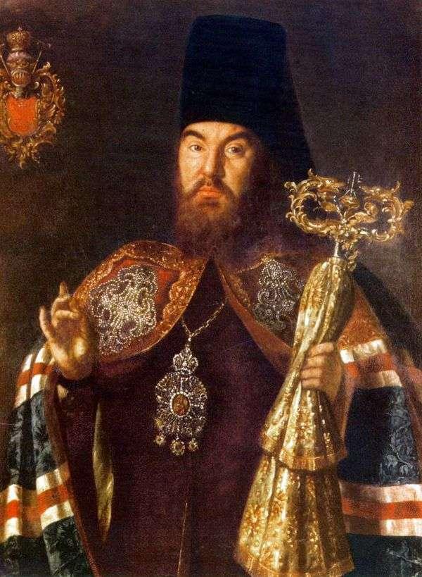 大司教S. Kulyabki   Alexey Antropovの肖像