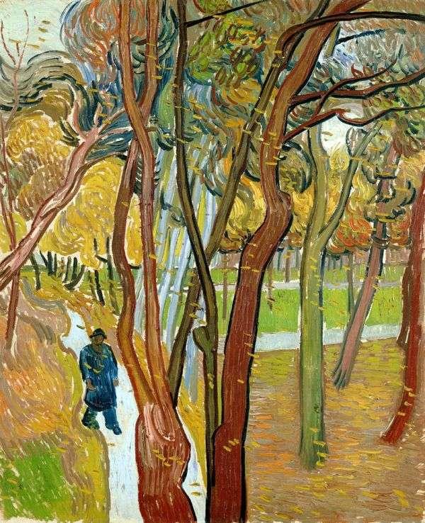 秋の葉の秋、散歩   Vincent Van Gogh