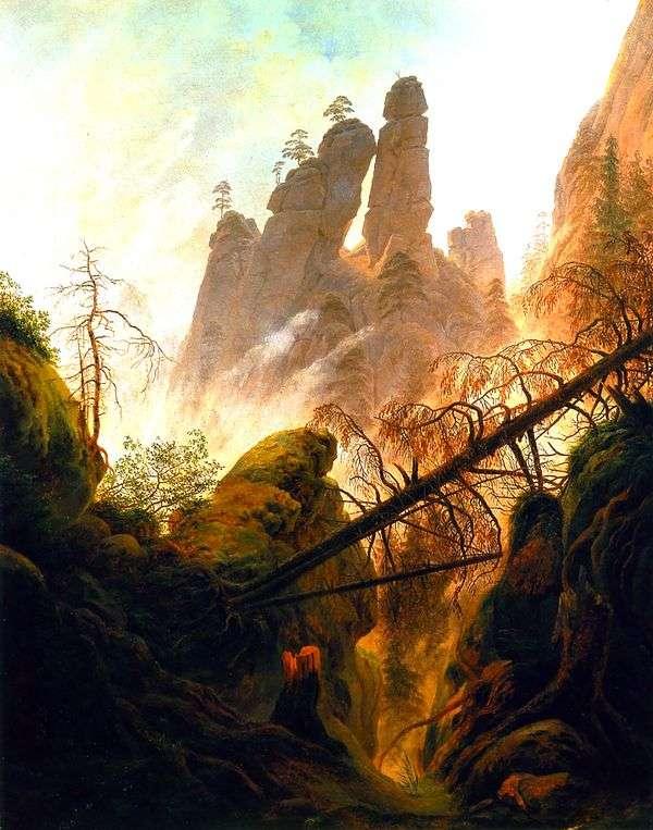 The Gorge   キャスパーデビッドフリードリヒ