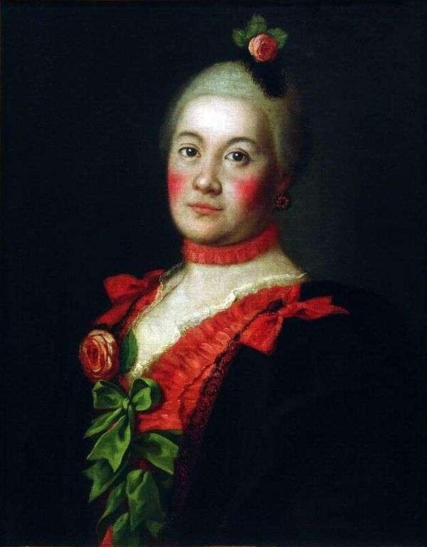 T. A. Trubetskoy王女の肖像   Alexey Antropov