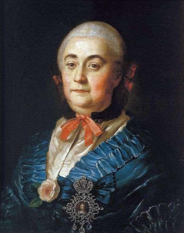 ステートレディアナスタシアイズマイロワ   アレクセイアントロフの肖像