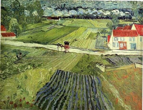 雨の後のAuveryの風景   Vincent Van Gogh