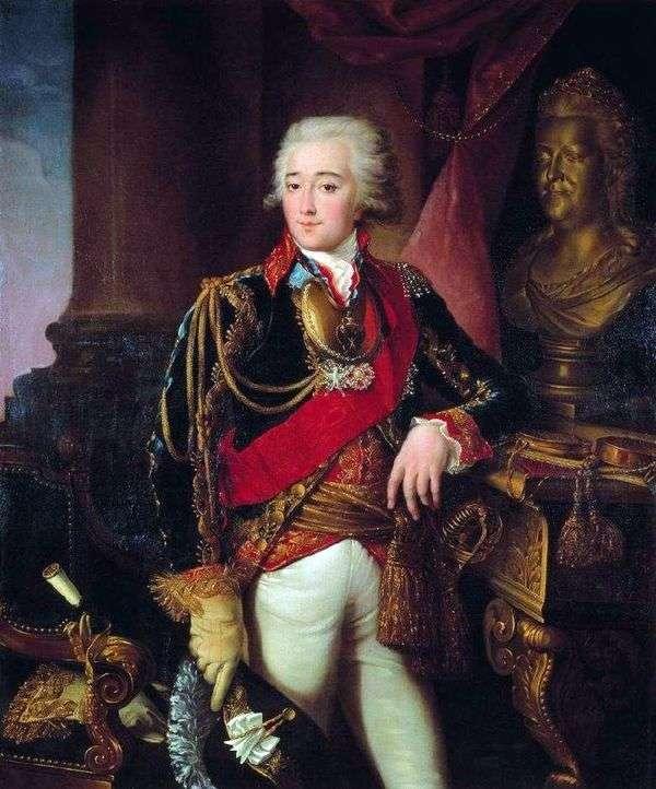 A. M. Dmitriev Mamonov   イワン・アルグノフの肖像