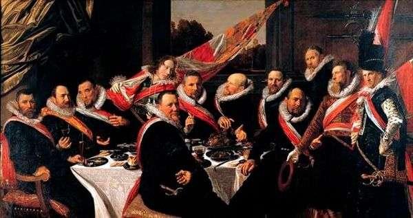 SVの会社の役員の宴会。ジョージ   フランスハルス