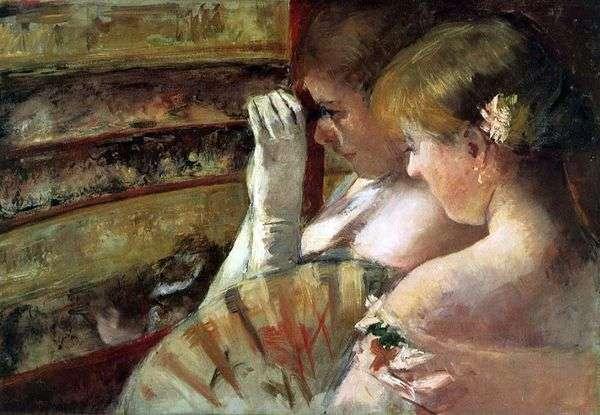 ボックス   Mary Cassatの若い女性