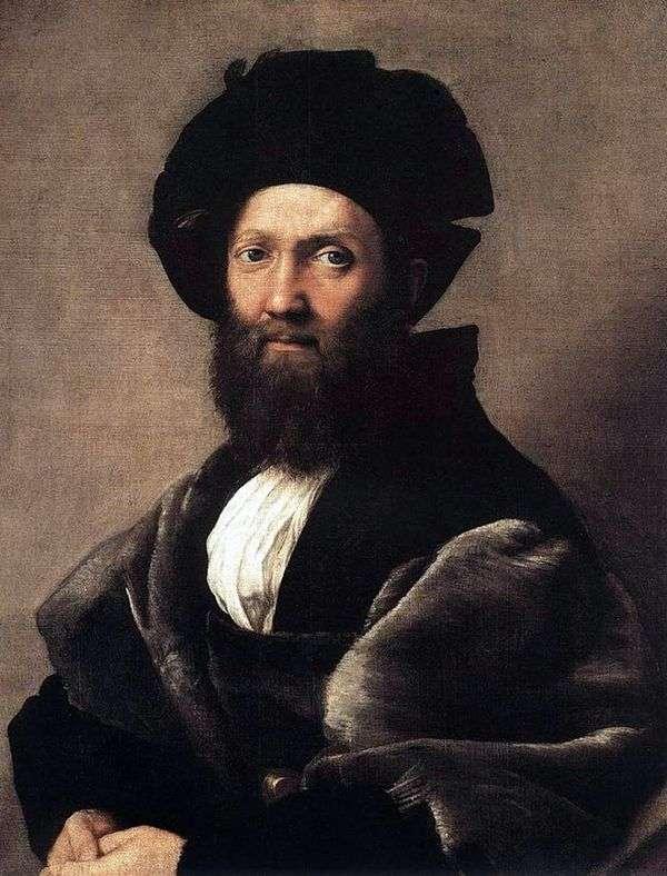 Baldassare Castiglione   ラファエルサンティの肖像