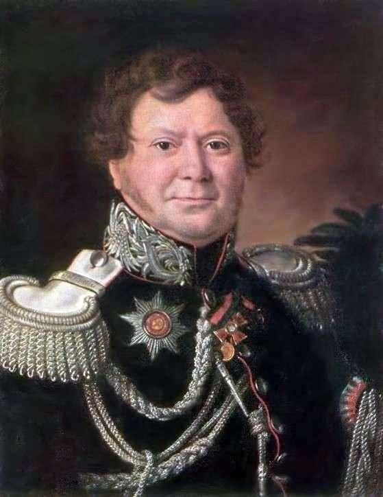 N. N. Muravyev   Ivan Argunovの肖像