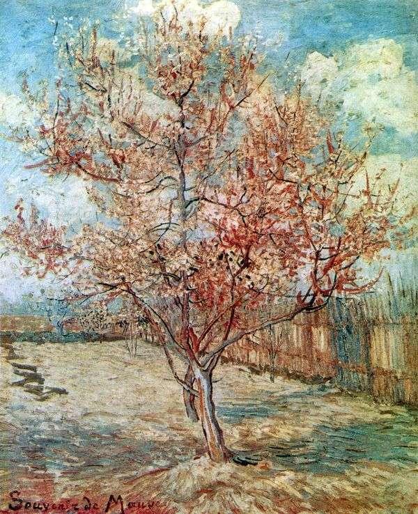 桃の花   ヴィンセントヴァンゴッホ